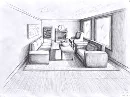 1 point perspective room 05 perspektif pinterest perspective