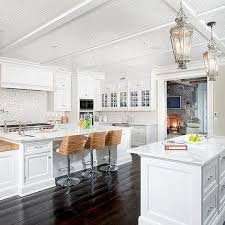 White Beadboard Ceiling by Kitchens Beadboard Kitchen Ceiling