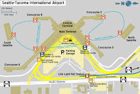 New York Airport Map Terminals by Seatac Terminal Map My Blog