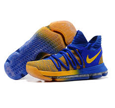 nike kd x shoes blue orange sale