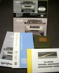 2005 jeep owners manual jeep grand owners manual w maintenance logbook fabric pouch