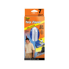 Patio Table Cover With Umbrella Hole Zipper by Cinchtite Tarp Zipper Door 5363 Tarp Accessories Ace Hardware