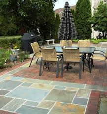 Large Paver Patio by Pavers Reflections From Wandsnider Landscape Architects