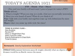mass vs weight on different planets worksheet answers ghost study