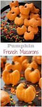 the cutest pumpkin macarons sweet u0026 savory by shinee