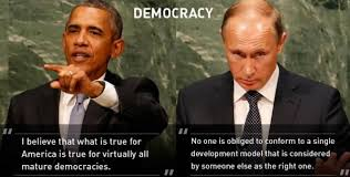 Obama Putin Meme - description of democracy obama vs putin imgur