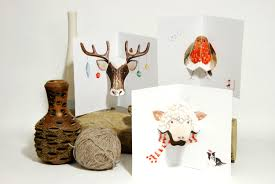 animal christmas cards u0026 holiday ornaments pause product
