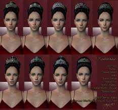 Liana Sims 2 Preview Women S Clothing Swimwear Maya40 Tiaras Medieval Sims 2 Crowns Hats And Other