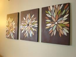 wall ideas diy wall art using paper easy diy wall art canvas