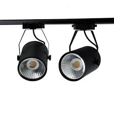 how to replace track lighting 10w 20w 30w led track light aluminum ceiling rail track lighting cob