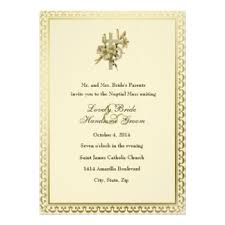 catholic wedding invitations catholic wedding invitation amulette jewelry