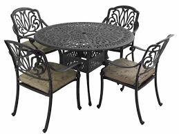 Garden Patio Table And Chairs Hartman Beaumont 4 Seater Round Set Garden Furniture 4 Seater