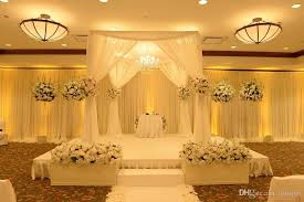 pipe and drape wholesale 2018 wholesale wedding arch square pavilion backdrop curtains