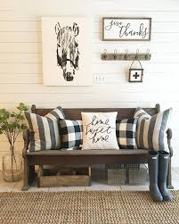Church Pew Home Decor 211 Best Foyer And Mudroom Images On Pinterest Mudroom Entryway