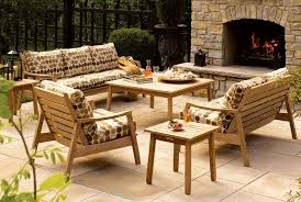 furnitures minimalist look teak garden furniture teak garden