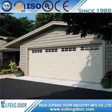 most popular wholesale 16x7 double car garage door buy double