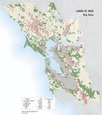 Green Bay Map Bay Area Lands At Risk Map Greenbelt Alliance