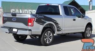 Ford F150 Truck Decals - torn ford f150 decals side truck bed 4x4 mudslinger ripped 3 x
