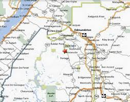 Map Maine 54 Acres Lot For Sale In Winterville Maine Land Century