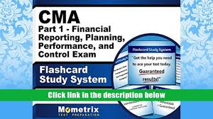 download cma part 1 financial reporting planning performance