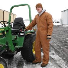 insulated jumpsuit heavy duty deluxe insulated coverall s cold weather gear