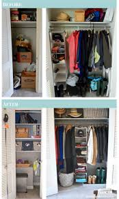 5 steps to makeover your entryway closet pender u0026 peony a
