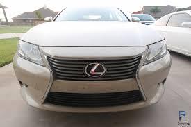 lexus sedan classes lexus es350 tan polished and collnited
