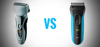 electric shaver is better than a razor for in grown hair panasonic arc3 vs braun series 3 what s the best entry level