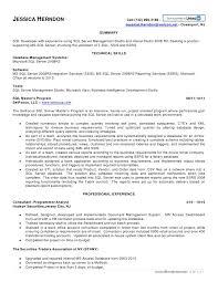 Sample Sql Dba Resume by Sql Resume Jl Herndon