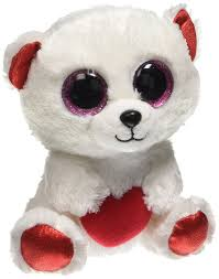 amazon ty beanie boo cuddly bear polar bear 6