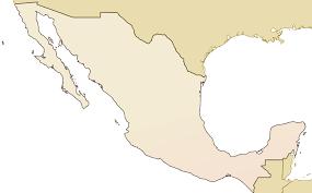 Bucerias Mexico Map by Atlas Blank Mexico Map