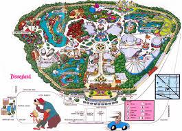 Disney Maps Theme Park Brochures Disneyland Theme Park Brochures