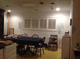 No Chandelier In Dining Room Help With Dining Room Lighting