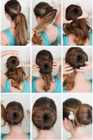 tutorial rambut tutorial model sanggul modern super mudah cantik