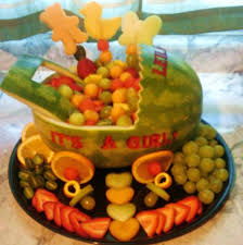 fruit basket for a baby shower edible fruit creations