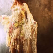 shop bohemian gypsy wedding dress on wanelo