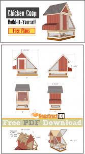 chicken coop plans 1 pdf download construct101