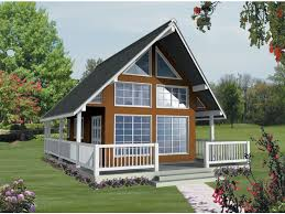 small a frame cabin kits eplans a frame house plan vacation views 1062 square and