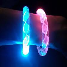 bracelet led images Led rainbow spiral bracelet closeouts