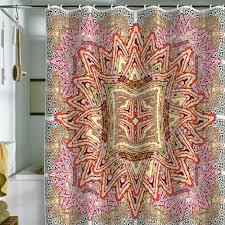 Deny Shower Curtains Boho Shower Curtain Interior Design