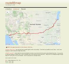 Route 66 Map Kurt U0027s Profile Places2explore