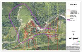 Seattle County Map by Parcel Map Of The Slide Area Being Searched The Today File