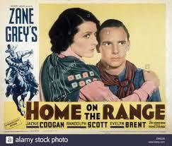 home on the range from left randolph scott evelyn brent jackie