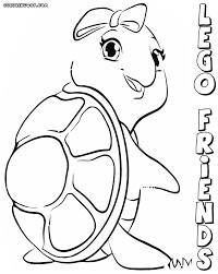 lego friends coloring pages coloring