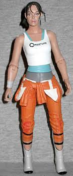 portal jumpsuit oafe neca player select portal 2 chell review
