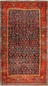 Red Blue Rug Antique Persian Bidjar Carpet 41997 By Nazmiyal