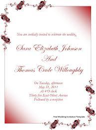 wedding invitation card sles free popular wedding