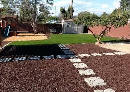 alternatives to grass in backyard alternatives to grass in backyard wood chips bark used in the