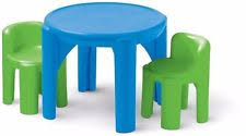Plastic Table And Chairs Little Tikes Table And Chairs Ebay