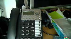 review and test at u0026t 2 line answering phone system youtube